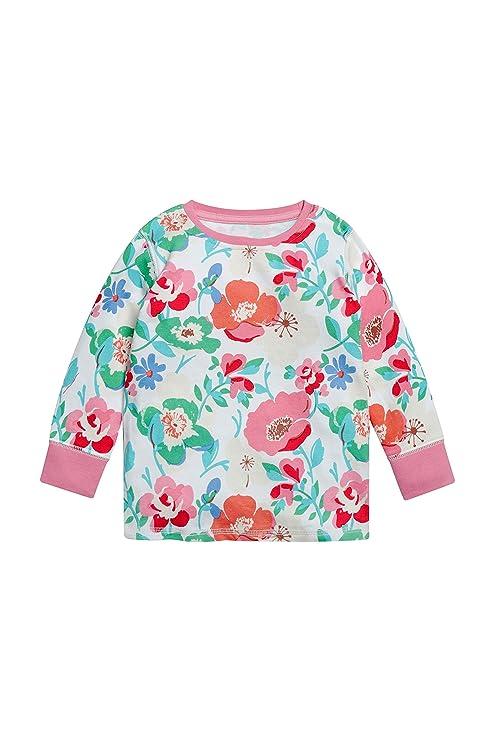 next Niñas Pack De Tres Pijamas Cómodos con Flores (9 Meses - 8 Años) Crudo 7-8 Años: Amazon.es: Ropa y accesorios
