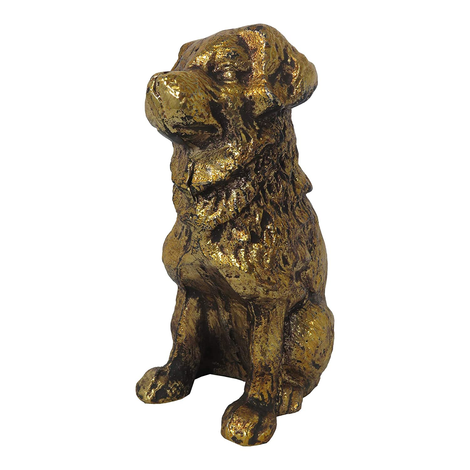 Moes Home Collection MH-1081-32 Fido Table Top D/écor Gold Moe/'s Home Collection