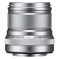 Fujifilm FUJINON XF 50mmF2 R WR Obiettivo 50mm, f/2, Resistente Intemperie, Attacco X Mount, Argento