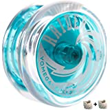 Yomega Raider - Professional Responsive Ball Bearing Yoyo, Great for Kids, Beginners and for Advanced String Yo-Yo Tricks and