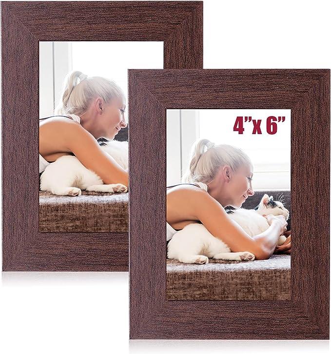"""Foto montaje de blanco para caber Marco de Foto 8 X 8/"""" para el tamaño de imagen 4 X 4/"""""""