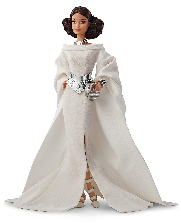 GHT78 Multicolore Barbie- Signature Princesse Leia Poup/ée de Collection Star Wars Jouet Collector