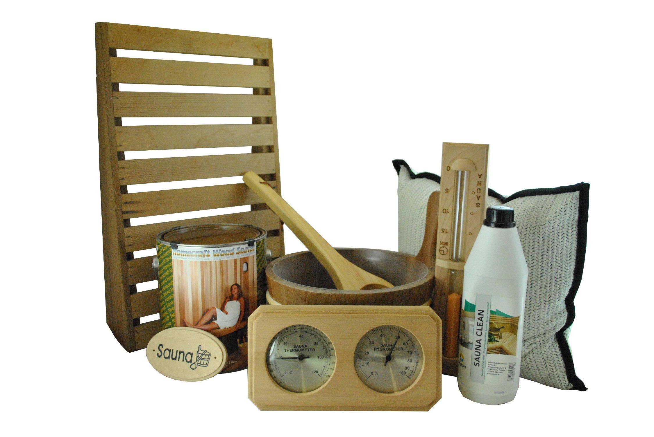 Cedar Sauna Accessory Kit by Heaters4Saunas