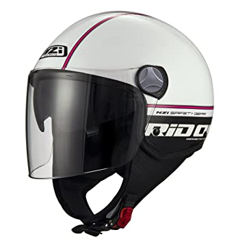 NZI Cascos Abiertos, Reid On White Pink, Talla L