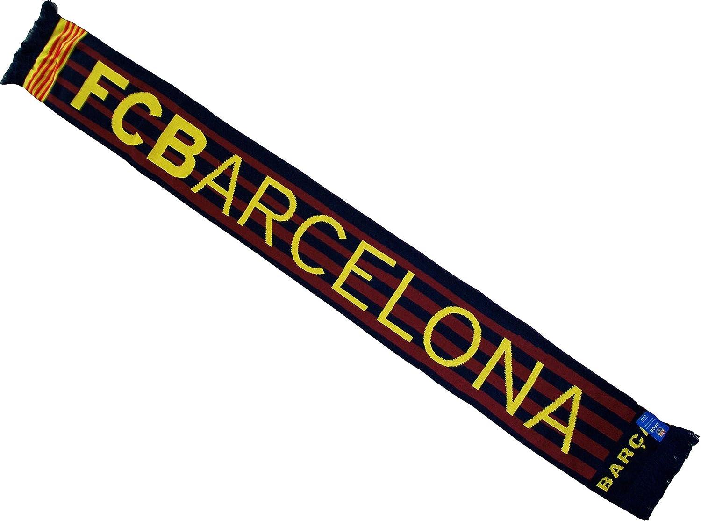Lionel Messi bufanda - FC Barcelona colección oficial - Liga Española de Fútbol: Amazon.es: Deportes y aire libre