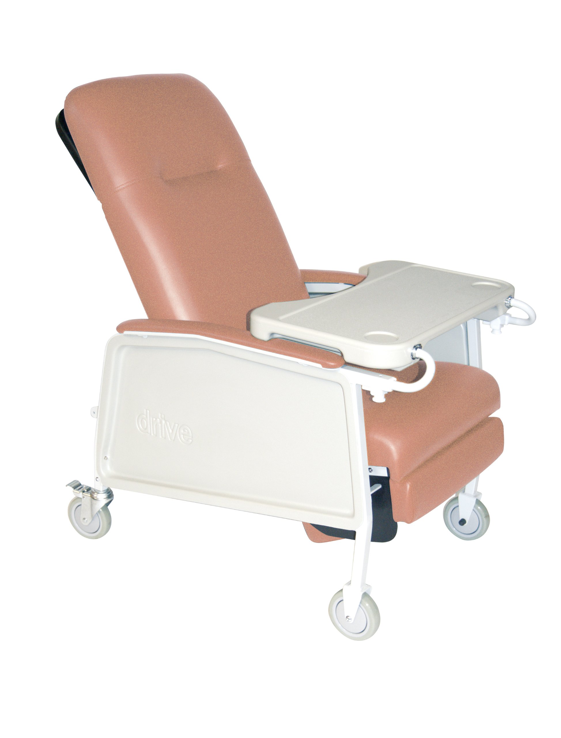 Drive Medical 3 Position Heavy Duty Bariatric Geri Chair Recliner, Rosewood