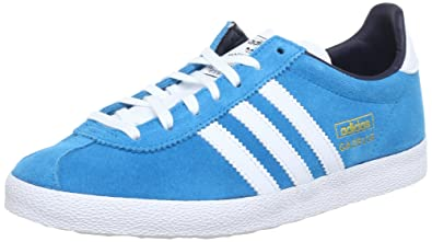031c5855cd81b adidas Originals Women's Gazelle OG W Low-Top Sneakers Turquoise Size: 5.5
