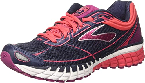 Brooks Aduro 4, Zapatos para Correr para Mujer, Gris (Peacoat/Teaberry/Boysenberry), 37.5 EU: Amazon.es: Zapatos y complementos