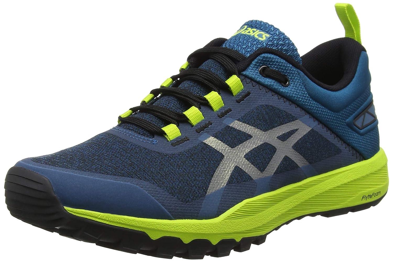 Asics Gecko XT, Zapatillas de Running para Hombre 44.5 EU|Multicolor (Lagoon/Black 400)