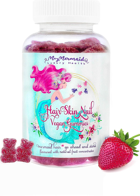 Organic Hair Growth Vitamins For Healthy Hair Growth Youthful Skin Hair Skin And Nails Gummies