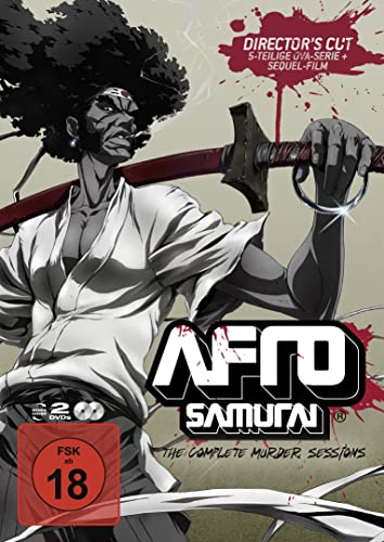 Afro Samurai - The Complete Murder Sessions Alemania DVD ...
