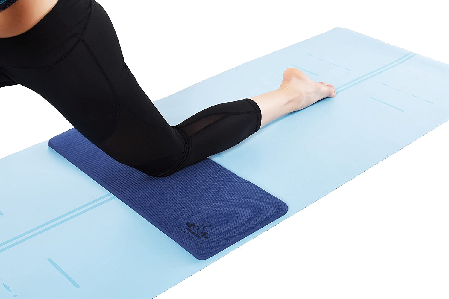 Heathyoga Yoga Knee Pad, Great for Knees and Elbows While Doing Yoga and Floor Exercises, Kneeling Pad for Gardening, Yard Work and Baby Bath. ...