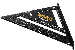 DEWALT DWHT46031 Aluminum 7-inch Premium Rafter Square