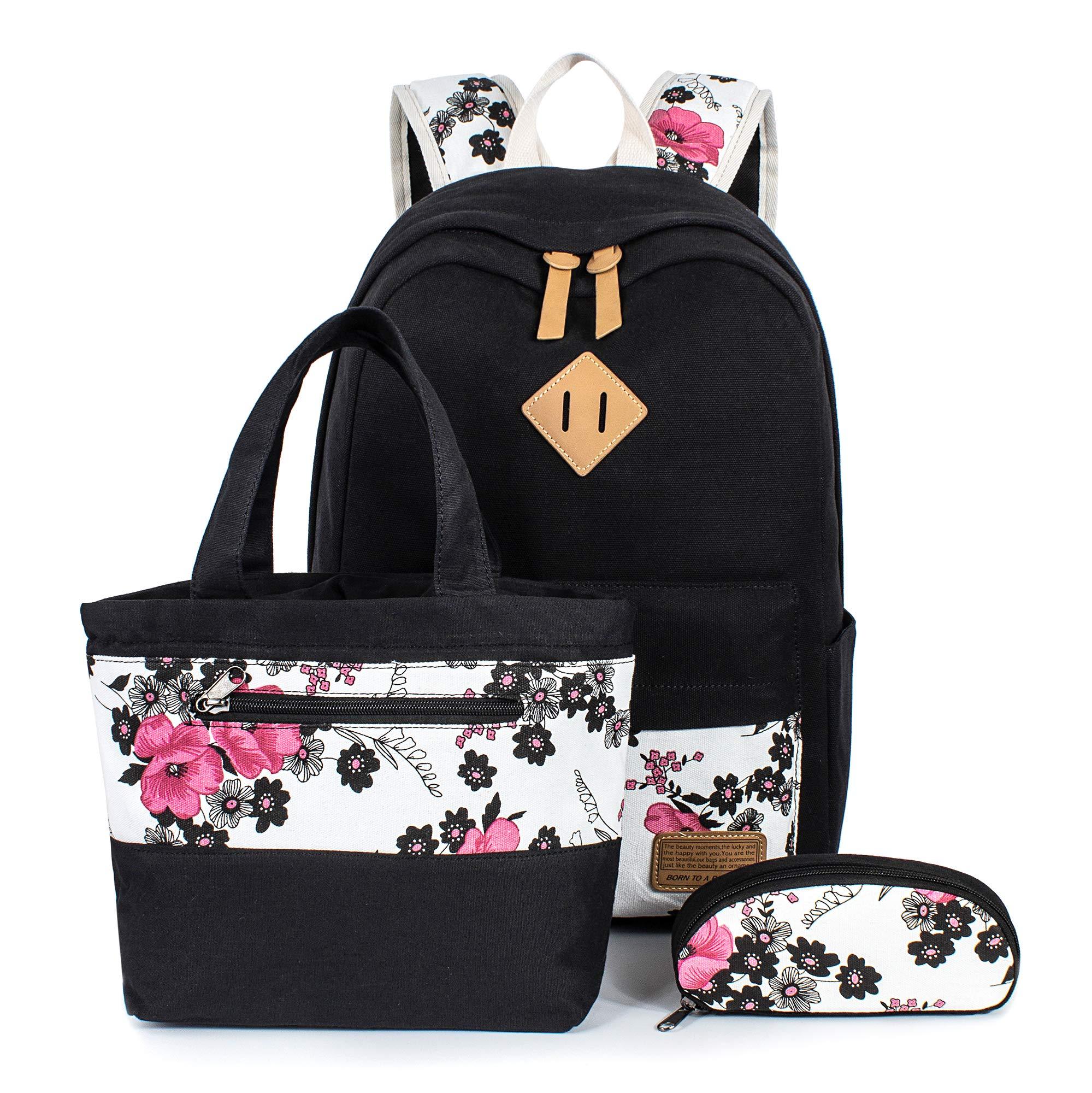 H HIKKER-LINK School Backpack Set Laptop