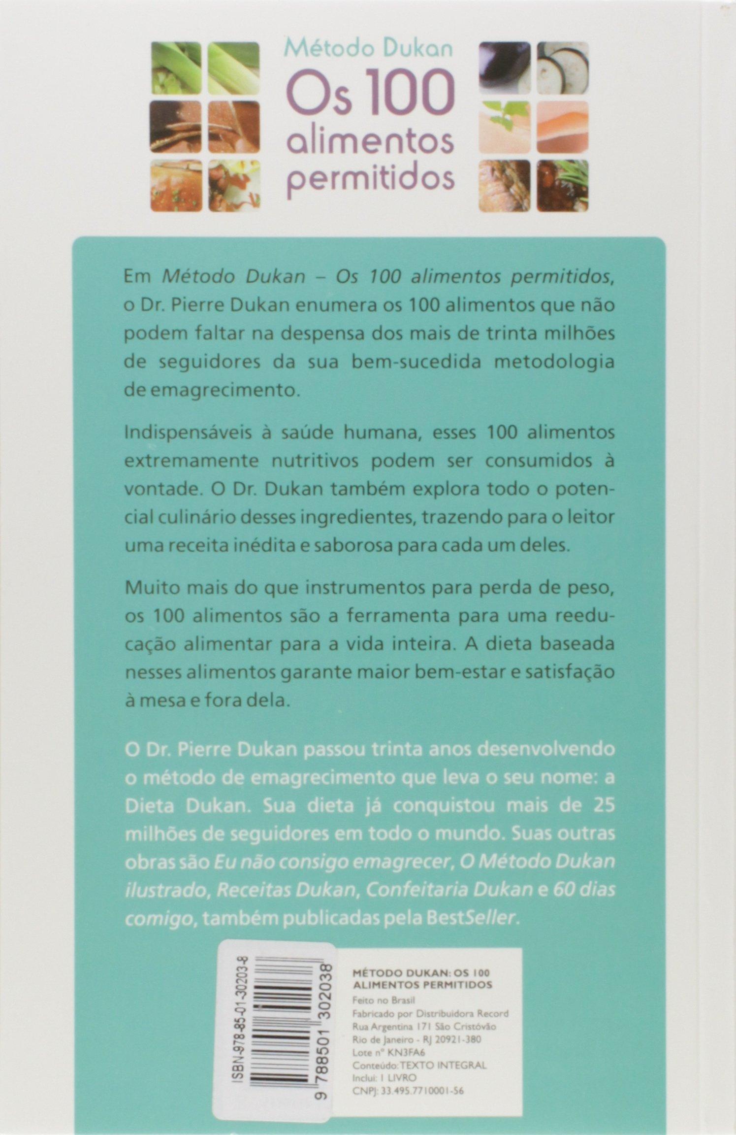 Metodo Dukan Os 100 Alimentos Permitidos Dr Pierre Dukan