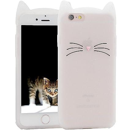 Amazon.com: iPhone 8 Funda, iPhone 7 Funda, MC moda lindo 3d ...