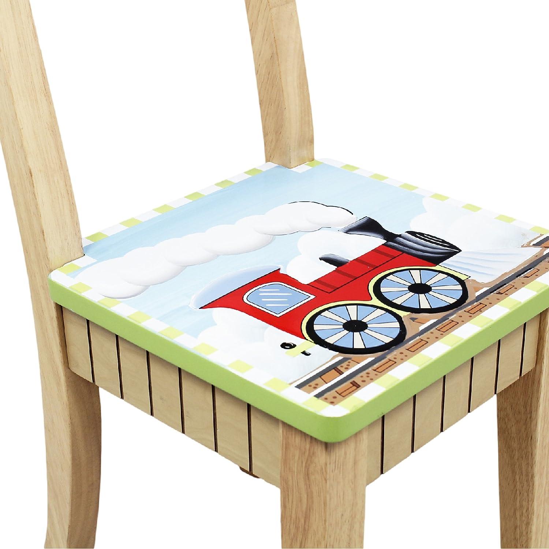 sin sillas Mesa de madera para interiores Dinosaur de Fantasy/Fields TD-0079A1