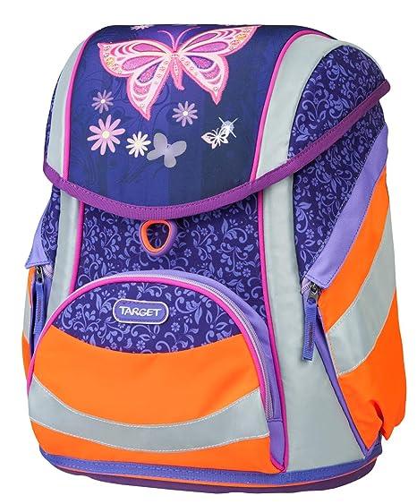 Target Sac à Dos scolaire Papillon Mochila Infantil, 43 cm, Morado (Violet/