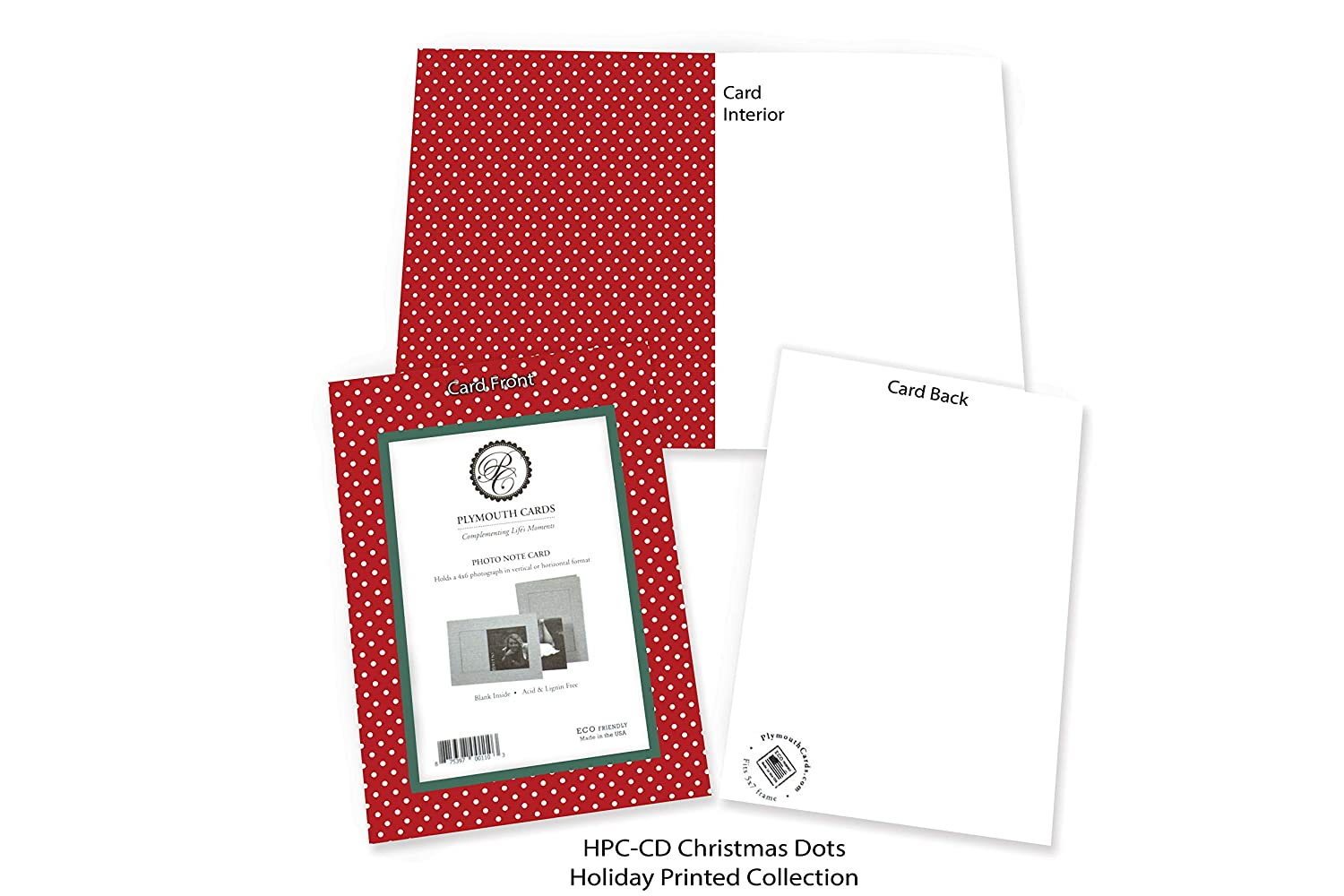 Amazon.com : Holiday Photo Note Cards for 4\