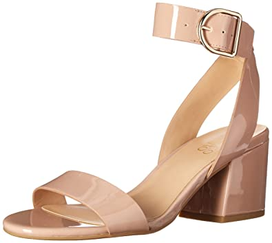 3439f7a388 Franco Sarto Women's Marcy Heeled Sandal, Victorian Rose Patent, 6 Medium US