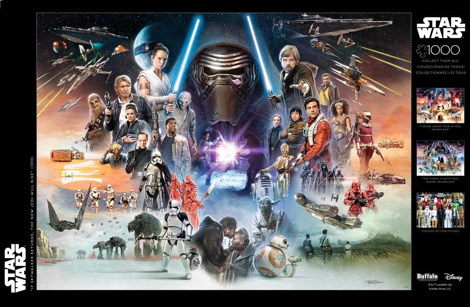 Star Wars Puzzle-The Rise of Skywalker-Puzzles for Adults 500 Piece