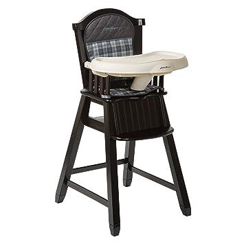 Amazoncom Eddie Bauer Wood High Chair Ridgewood Childrens