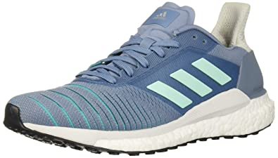the best attitude 13b54 27999 adidas Womens Solar Glide Running Shoe raw GreyClear Minthi-res Aqua