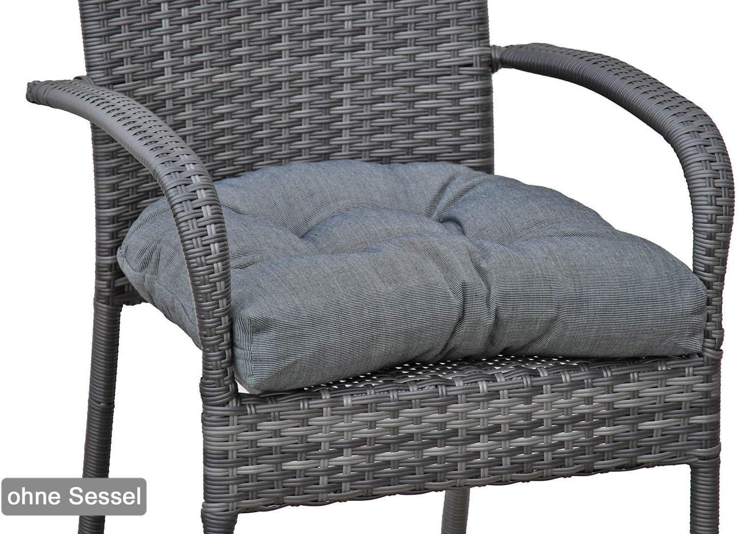 Nastri di Fissaggio Foam Core EU Disegno:Fenicottero /ÖkoTex100 Diluma Cuscino per Sedia da Giardino con Schienale Basso Naxos 98 x 49 x 6 cm Quantit/à:x1