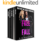 Romance: Free Fall Box Set 5-In-1 Book Bundles: Billionaire Bachelors Romance, Outlaw MC Biker Romance, College Football Sports Trilogies, Billionaire Boys Club Romance (Be My Bad Boy Tonight Series)