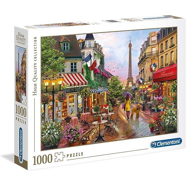 Clementoni - Puzzle de 1000 Piezas,, diseño París (391226): Amazon ...