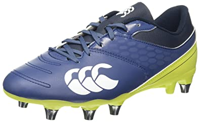 Canterbury Phoenix 2.0 Elite Soft Ground, Chaussures de Rugby Homme, Turquoise (Carribean Sea), 45 EU