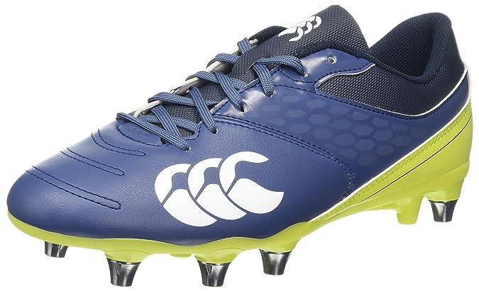 Canterbury Phoenix 2.0 Elite Soft Ground, Chaussures de Rugby Homme, Turquoise (Carribean Sea), 47.5 EU