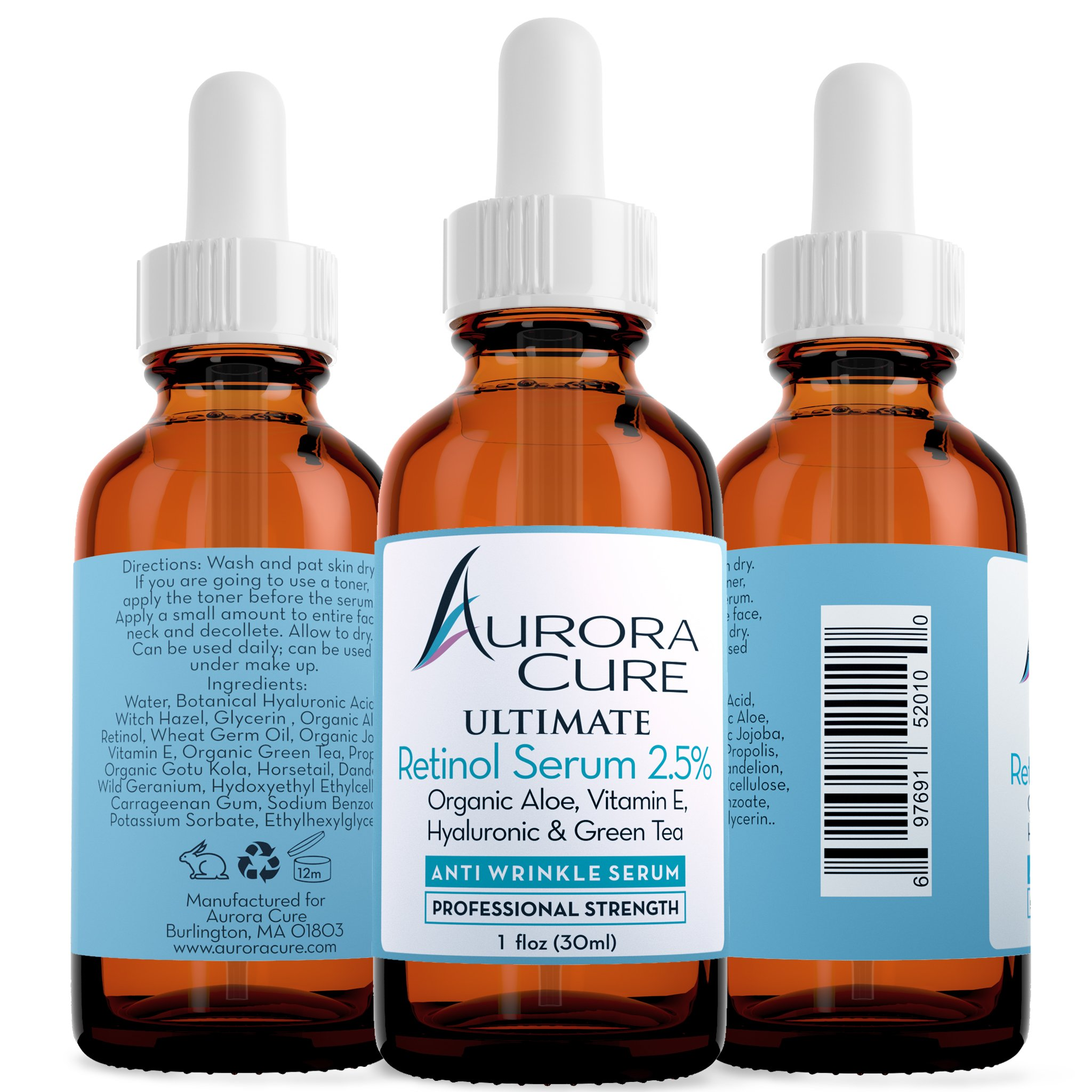 Amazon.com: Aurora Cure VITAMIN C 20% Serum ANTI AGING