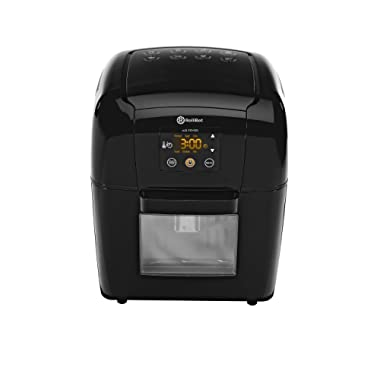 Rollibot 3.5 Qt Hot Air Fryer XL: Accelerated Power Air Circulation for Fast & Healthier Cooking; 6 Preset Settings