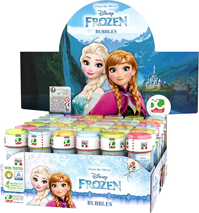 ColorBaby Lot de 36 Bulles de Savon Frozen, 60 ml, Unidades (18): Amazon.es: Juguetes y juegos
