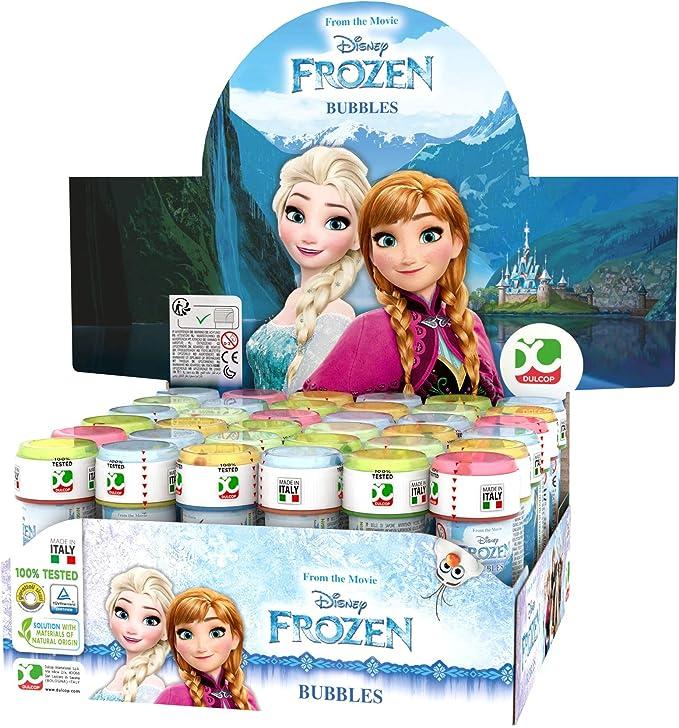 ColorBaby - Caja pomperos Frozen con 36 Unidades de 60 ml (24259)