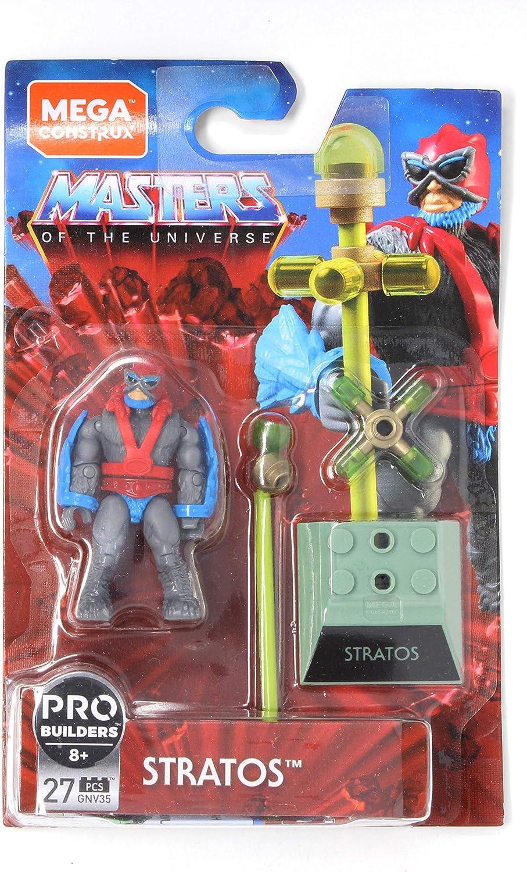 Master/'s Of The Universe Pro Builders Mega Construx Stratos MCX MOTU HEROES