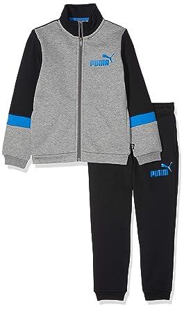 PUMA Sweat – Chándal Infantil, Niños, 852544, Cotton Black, 116 ...
