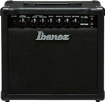 Ibanez IBZ15GR - Amplificador de guitarra, color negro