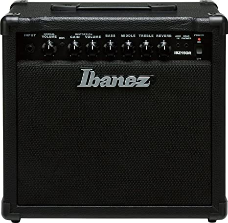 Ibanez IBZ15GR - Amplificador de guitarra, color negro ...