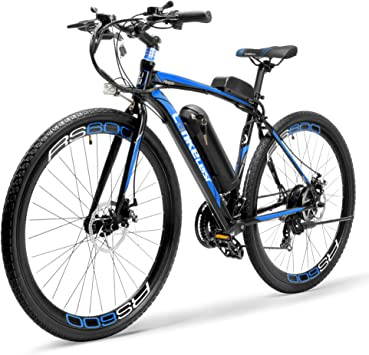 LANG TU Bicicleta de Carretera eléctrica de batería Grande 700C ...
