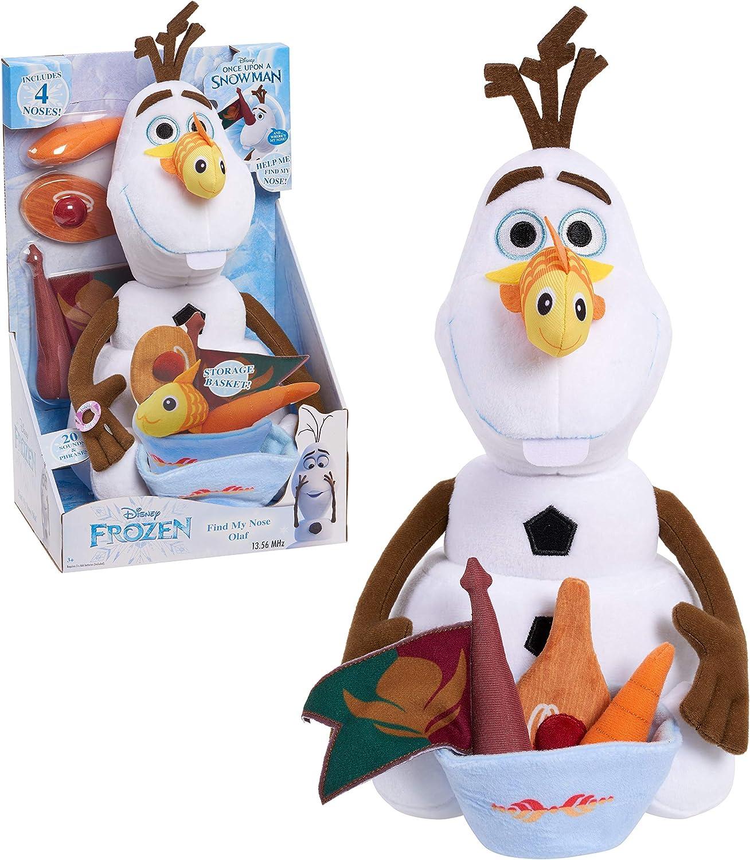 Disney Frozen Find My Nose 14-Inch Olaf Plush