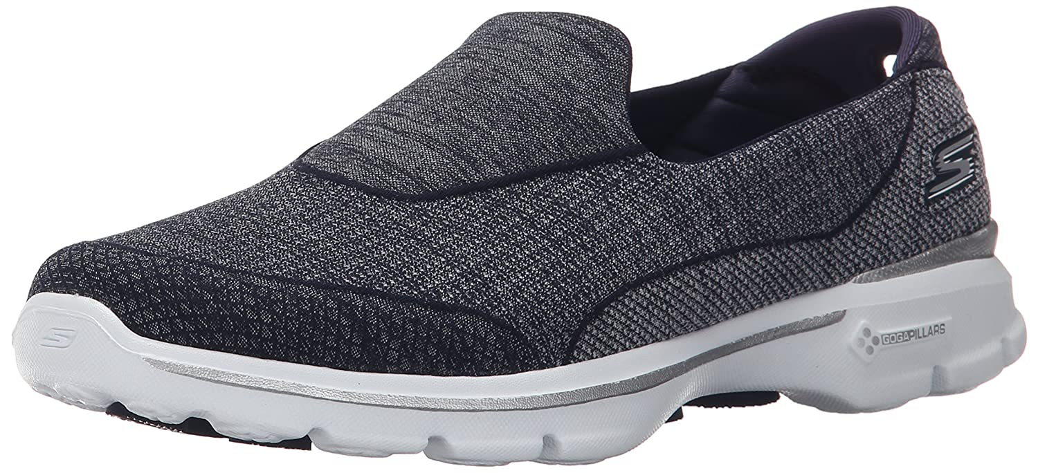 Skechers Damen Super Sock 3 Sneaker, Rose  36 EU|Azul (Nvw)