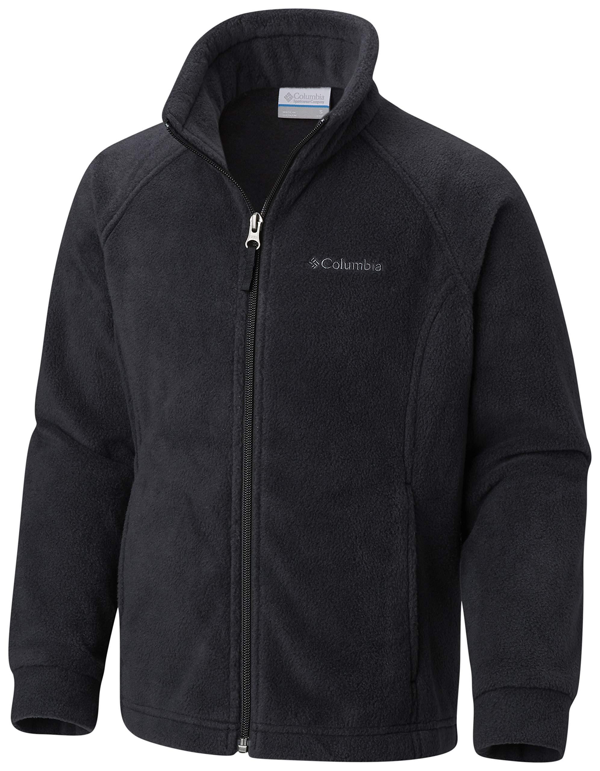 Columbia Little Girls' Benton Springs Fleece Jacket, Black, XX-Small