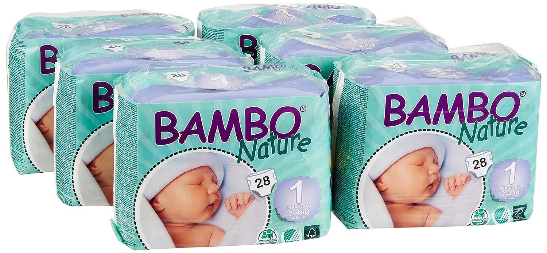 Abena Bambo Nature couches pour b/éb/é Lot de 3
