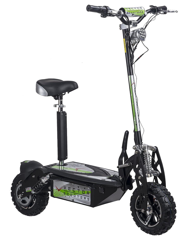 VECTORSCOOTERS 1000W Scooter eléctrico, 36V, batería SLA