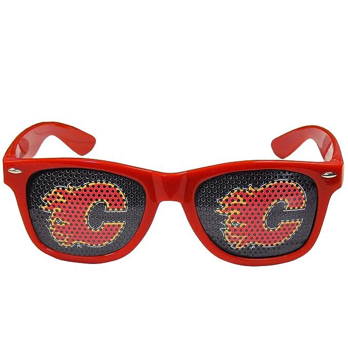 NHL Calgary Flames Juego Día tonos, color rojo: Amazon.es ...