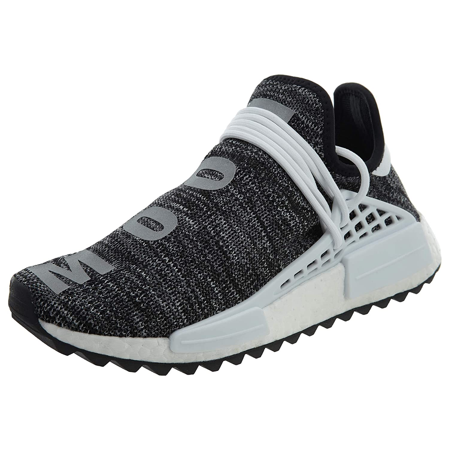 2fd4a06f57d85 adidas NMD Human Race Trail Pharrell Williams Oreo - Black White Trainer  Size 7 UK  Amazon.co.uk  Shoes   Bags