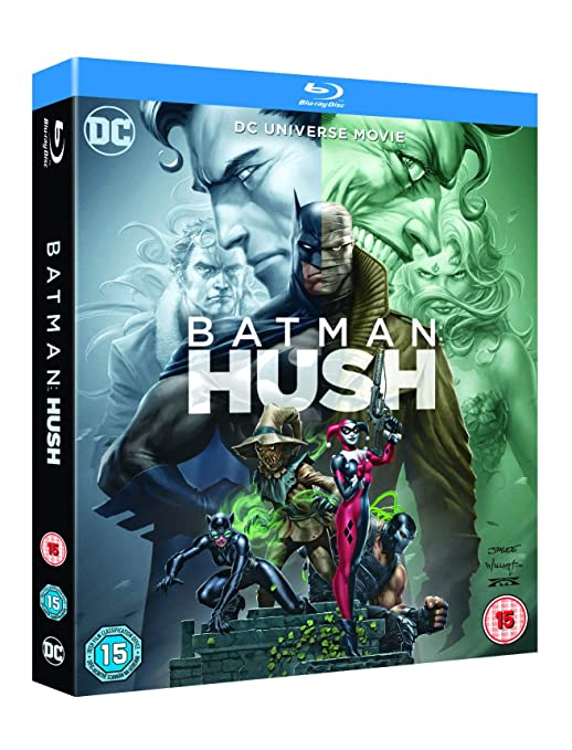 Amazon.com: Batman: Hush [Blu-ray] [2019]: Jason OMara ...