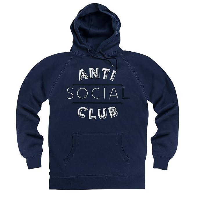 Anti Social Club Sudadera con Capucha, para Hombre: Amazon.es: Ropa y accesorios